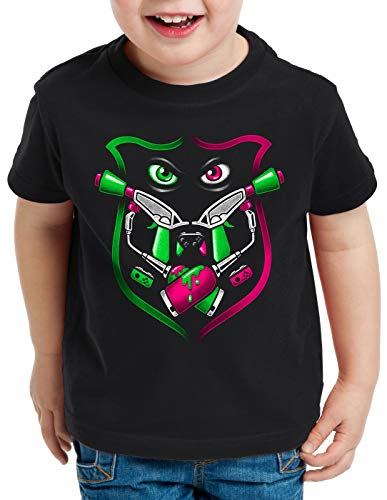 A.N.T. Splash Team T-Shirt pour Enfants Switch Shooter Gamer, Taille:140