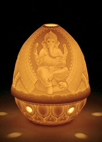 LLADRÓ Lord Ganesha Lithophane. Porcelain Litophane.