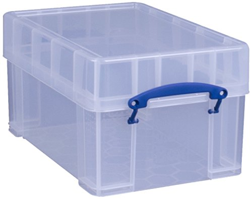 Really Useful Box X-Large 9 Liter Vinyl Aufbewahrungsbox, transparent