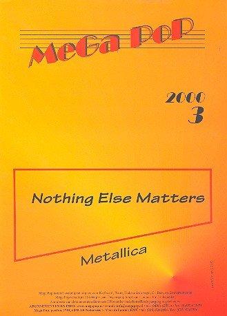 Nothing else matters: Edición individual para piano con texto y acordes