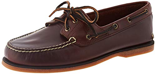 Timberland Classic 2 Eye, Náuticos para Hombre, Marrón Medium Brown Full Grain, 43 EU