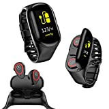 inDigi Bluetooth Bracelet Smart Watch Phone w/OLED Display Caller ID Time Music