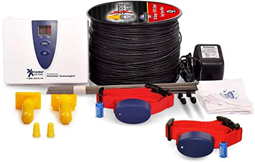 Underground Electric Dog Fence Premium - Standard Dog Fence System for Easy Setup and Superior Longevity and Continued Reliable Pet Safety - 1 Dog | 500 Feet Standard Dog Fence Wire