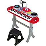winfun- Teclado Rock Star Beat Bop, Color Rojo (CPA Toy Group 7302068)
