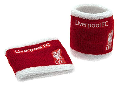 Liverpool FC Kid's Towelling Wristbands, Red, One Size