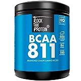 Rock The Protein BCAA 8:1:1 + Vit B6 Integratore Alimentare a Base di Aminoacidi Ramificati - 500 Compresse da 1000 mg