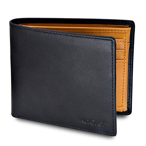 [Cómo funciona:]: billetera con bolsillo para monedas, 8 ranuras para tarjetas (6 visibles, 2 invisibles) y 2 compartimentos para billetes. La cartera también tiene una pestaña inteligente para acceder rápidamente a tus tarjetas diarias. Tamaño de la...