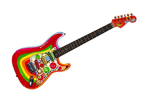 Guitare 'Rocky' de Stratocaster de Fender Stratocaster de George Harrison Poster la Taille A1 d'IMPRESSION