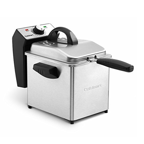 Cuisinart CDF-130 Deep Fryer, 2 Quart, Stainless Steel