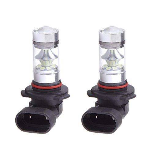 B Blesiya 2pcs 9005 HB3 LED Niebla Conducción Luz de Circulación Diurna Azul Hielo 8000K