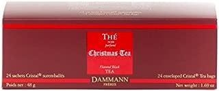 DAMMANN FRERES - Christmas Tea (BLACK TEA) - 24 wrapped crystal tea bags