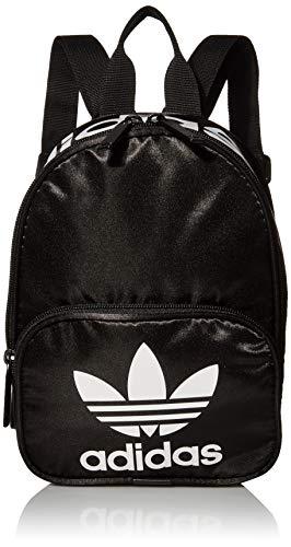 adidas Originals Mochila Santiago Mini Ii Unisex Originals Santiago Mini II Mochila, Unisex, Originals Santiago Mini II Mochila, 978183, Negro Satin/Blanco, Talla única