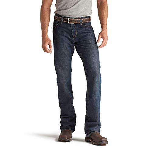 ARIAT Men s Flame Resistant M4 Low Rise Boot Cut Jean, Shale, 40W x 32L US