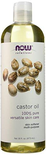 Now Foods Castor Oil 16 Fl Oz (2 Count) (Oil Now Foods)