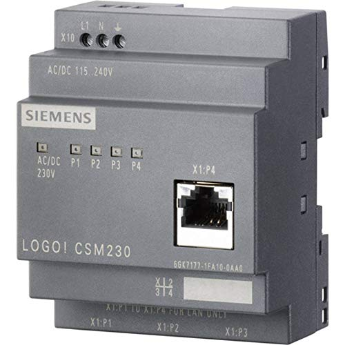 Siemens Industrieswitch unmanaged LOGO! CSM 230 Anzahl Ethernet Ports 4 0 LAN-Übertragungsrate 100
