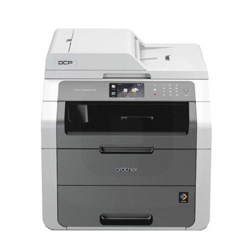 Brother DCP-9020CDW Imprimante Multifonction LED - Couleur blanc - A4