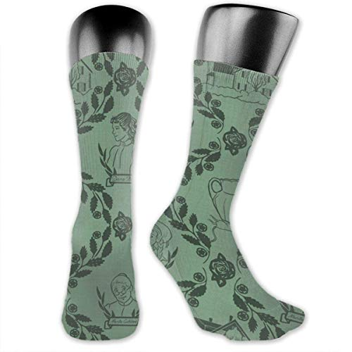 LAKILAN Ocasionales Calcetines,Calcetines De Tubo Calcetines Anne Of Green Gables