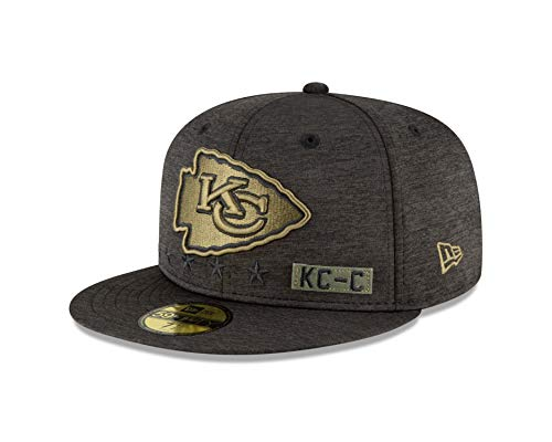 New Era Kansas City Chiefs Salute to Service 2020 59fifty Cap 7-56cm (M)