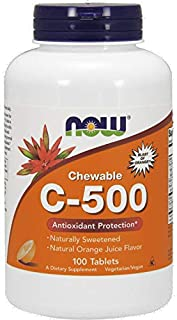 NOW Foods NOW Foods C-500 Chew Orange Loz 100's