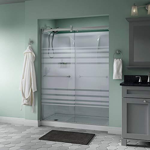 Delta Shower Doors SD3172718 Trinsic Semi-Frameless Contemporary Sliding Door 60in.x71in