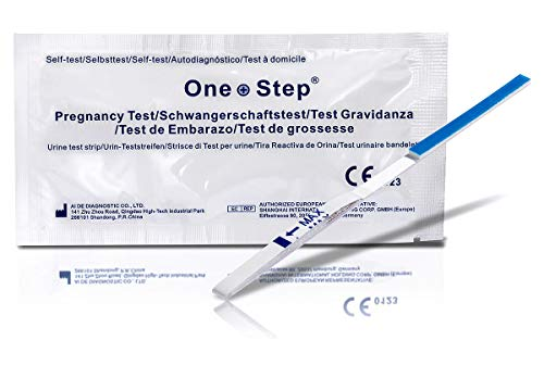 One Step 10 x Test di Gravidanza ultrasensibili 10 mIU/ml
