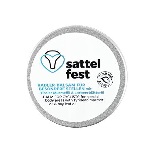 MONTIANA Sattelfest Balsam für Radfahrer | Original Tiroler Radler-Balsam | 100{8c8b21014ecd3cea7ddbdd4c3ae60b1c6d55abfd107fb86621cc45d0a0f588a1} natürlich | Handmade in Austria | 25ml