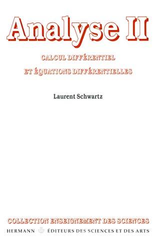 Analyse II: Calcul différentiel et Equations différentielles