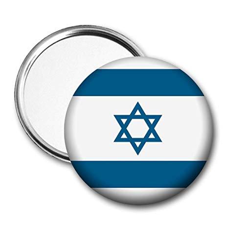 Israel Vlag Pocket Spiegel voor Handtas - Handtas - Gift - Verjaardag - Kerstmis - Stocking Filler - Secret Santa