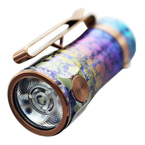 Fenix E16 Ti LED Schlüsselbundlampe 650 Lumen Phanthom Blue - neutralweiß