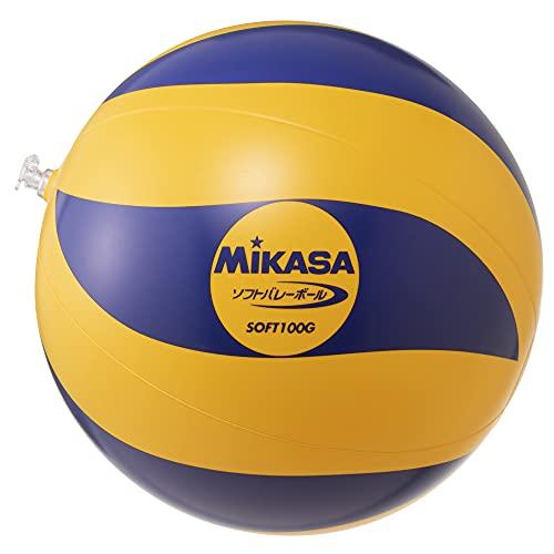 ミカサ(MIKASA) ソフトバレーボール 教材用 (ビニールタイプ)100g SOFT100G
