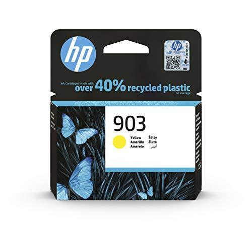 HP 903 T6L95AE, Amarillo, Cartucho de Tinta Original, compatible con impresoras de inyección de tinta HP OfficeJet 6950, 6951, OfficeJet Pro 6960, 6970