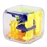 #N/D 3D velocidad laberinto cubo mágico plástico rompecabezas juego Cubos magicos aprendizaje juguetes laberinto balanceo bola juguetes para adultos