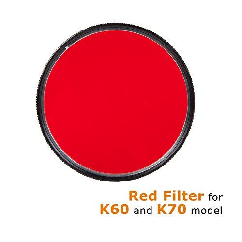 ACEBEAM Filtro F10(K60K70), Red Filter