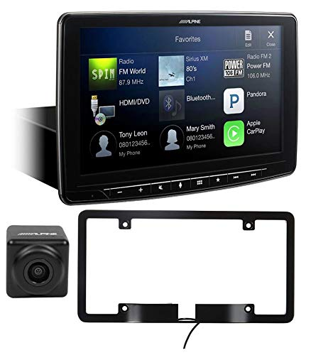 ALPINE iLX-F309 9' Digital Media Bluetooth Receiver w/ CarPlay/HDMI + HDR Camera