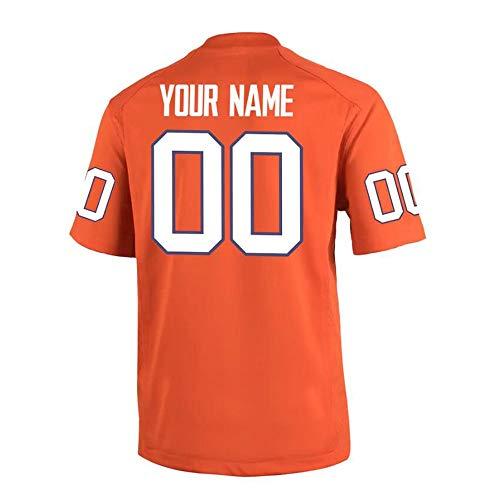 JYF Camiseta Futbol Camisetas De Fútbol Personalizadas, La Versión Más Reciente De 2020, Se Puede Marcar Su Nombre Y Número Favorito For Crear Su Propia Camiseta (Color : A, Size : Adult-XL)