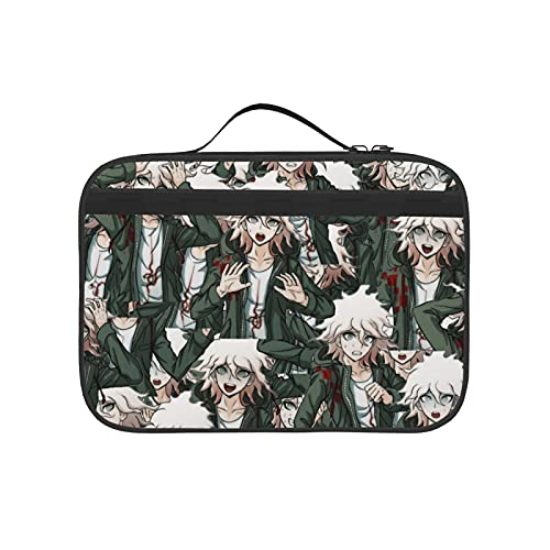 Na-Gito Komaeda Lunch Bag, Portable Tote Bento Pouch Lunch Box, Women Girls Adult Boys Zipper Bags, Package For Student Lunch Pack