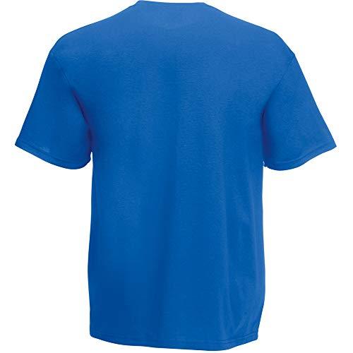 Fruit of the Loom Herren T-Shirt Original T 61-082-0 Royal L