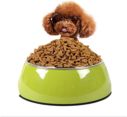 chenyanfang Tazón para Comida para Perros Suministros para Mascotas Tazón De Cerámica Alimentador para Gatos Tazón para Comida para Perros Los Mejores Modelos De Último Regalo (Color: Rosa Tamaño: S)