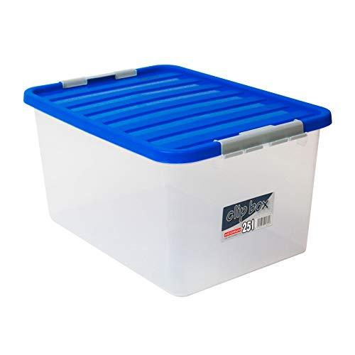 DEMA Universal Box mit blauem Deckel 25 liter