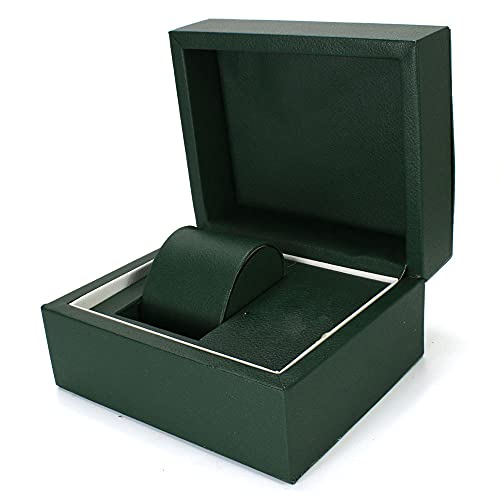 MUY Spot Caja de Reloj de Corona de Cuero Explosivo Caja de Reloj de PU Caja de joyería Caja de Embalaje de Reloj de joyería Día de San Valentín para