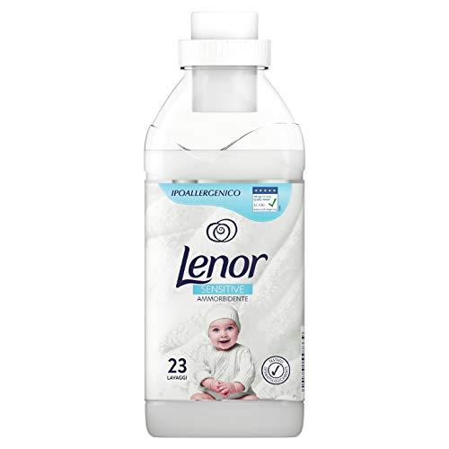 Lenor Ammorbidente Concentrato Lavatrice, Baby, 23 Lavaggi, Sensitive Delicato, Ideale per Pelli Sensibili