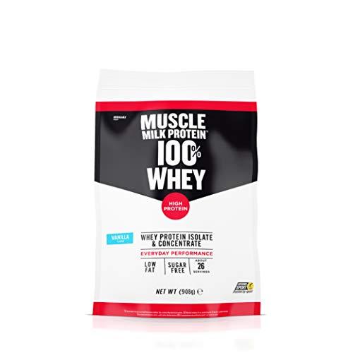 CytoSport Muscle Milk 100% Whey Vanilla, 908 g