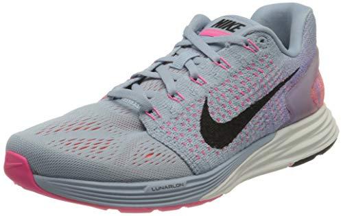 Nike Zapatillas de running Lunarglide 7 para mujer, color Azul, talla 7.5 UK