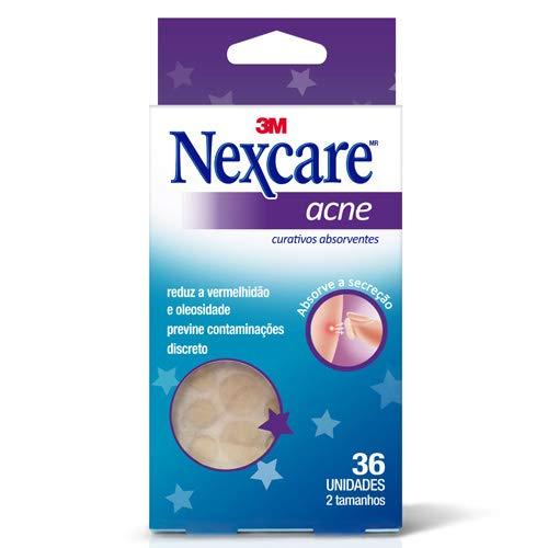 Curativos Absorventes para acne Nexcare, Nexcare, Transparente