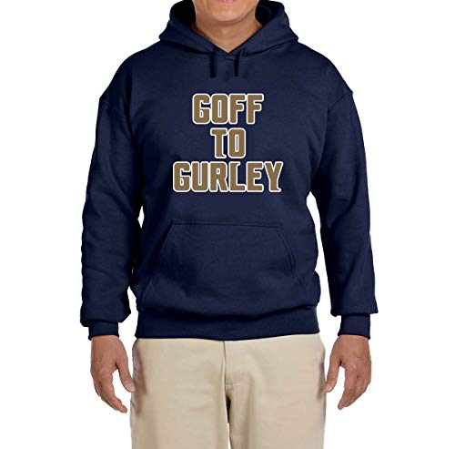 Tobin Clothing Navy Los Angeles Goff to Gurley Hooded Sweatshirt Youth Medium