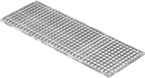 Fenau | Gitterrost/Baunorm-Rost Maße: 390 x 1090 x 20 mm - MW: 30 mm / 30 mm (Vollbad-Feuerverzinkt) (Passend für Zarge: Fenau 400 x 1100 x 23 mm) Industrie-Norm-Rost für Lichtschacht