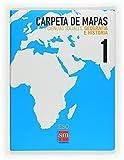 Ciencias sociales, geografía e historia. 1 ESO. Carpeta de mapas - 9788467534184