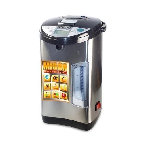 MIGON - Thermopot Wasserkocher Thermoskanne 5 l mit Netzschalter