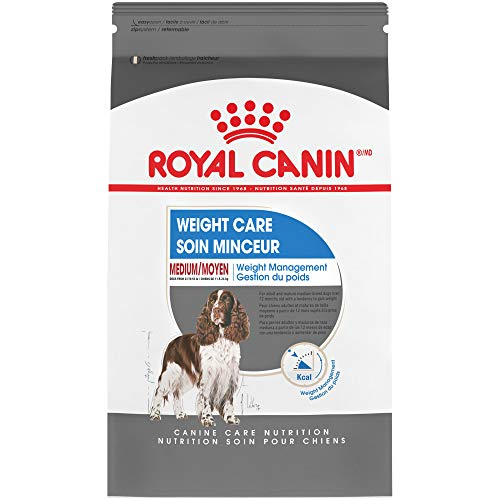 Royal Canin Medium Weight Care Dry Dog Food, 30...