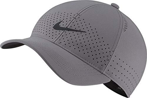 Nike U NK AROBILL L91 Cap Hat, Gunsmoke/Black, One Size